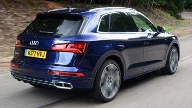 Audi SQ5 - rear quarter