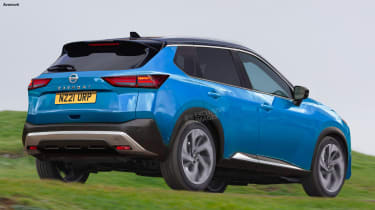 New Nissan Qashqai - exclusive image rear
