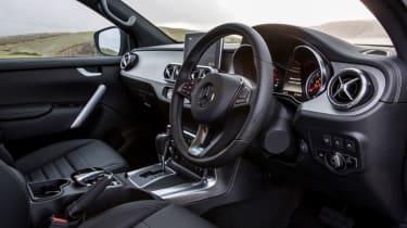 Mercedes X-Class review - interior driver