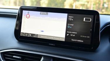 Hyundai Santa Fe - screen