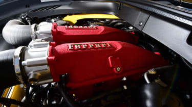 Ferrari California T Handling Speciale - engine detail