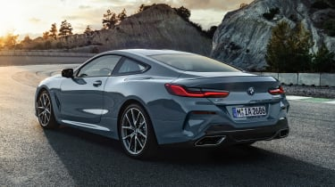 BMW 8 Series - rear static
