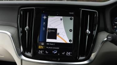 Volvo V60 - screen