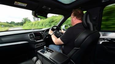 Volvo XC90 long-term test - Steve driving