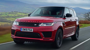 Range Rover HST - front tracking