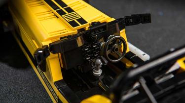 LEGO Caterham 620R - interior