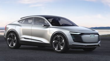 Audi e-tron Sportback concept - front static