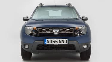 Used Dacia Duster - full front