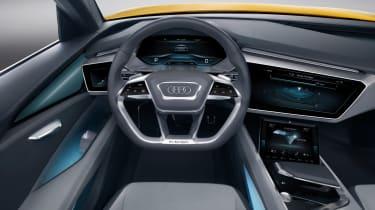 Audi h-tron concept - interior