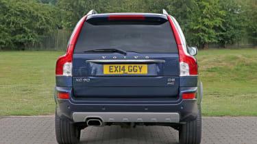 Used Volvo XC90 - full rear