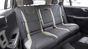 Used Volvo V60 - rear seats