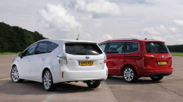 Toyota Prius+ vs SEAT Alhambra