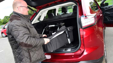 Ford Edge long term - third report boot