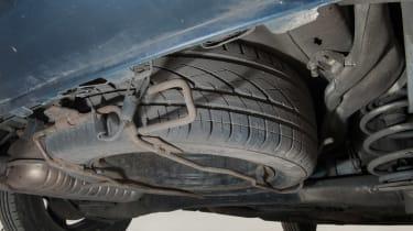 Used Vauxhall Zafira - spare wheel