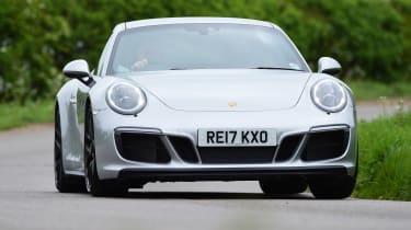 Porsche 911 GTS - front cornering