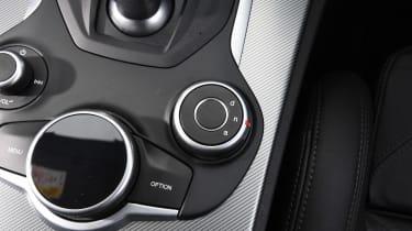 Alfa Romeo Stelvio - drive mode