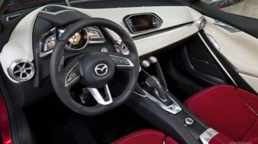 Mazda Hazumi concept interior