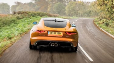 Jaguar F-Type P380 - full rear