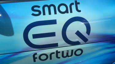 Smart EQ ForTwo Cabrio - Geneva badge