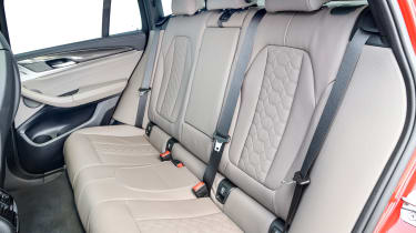 BMW X4 M Competition - rear seats
