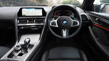 BMW 8 Series - dash