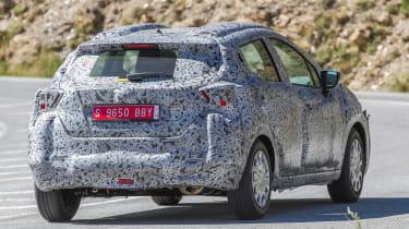 Nissan Micra 2017 spies rear