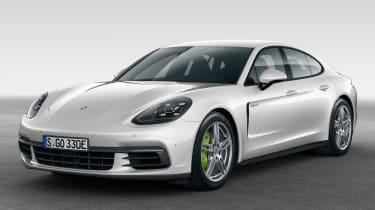 Porsche Panamera 4 E-Hybrid 2016 - front quarter 2