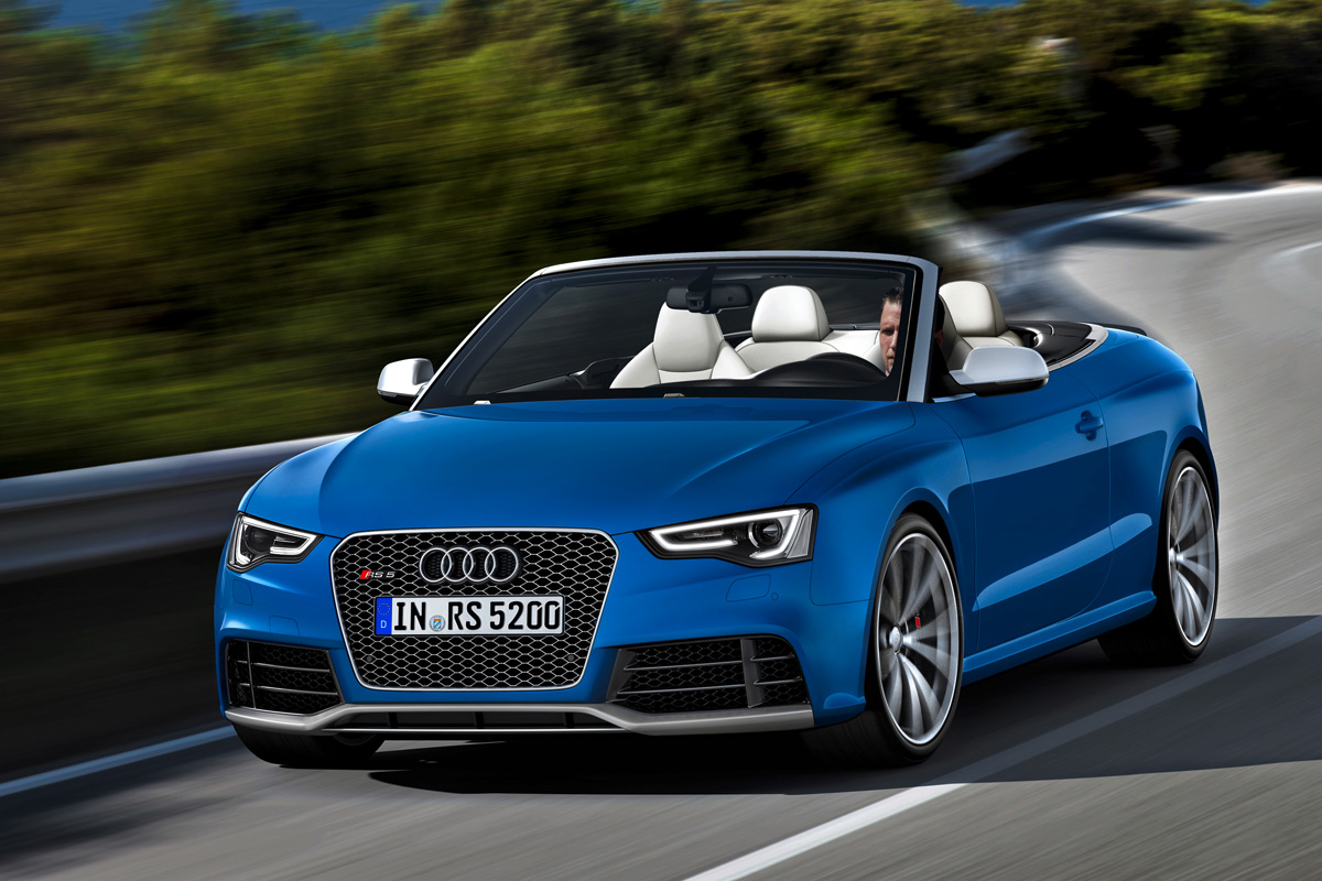 Audi Rs5 Cabriolet Review Auto Express