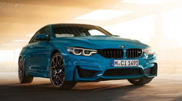 BMW M4 M Heritage Edition - Laguna Seca Blue