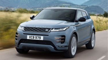 New Range Rover Evoque - front tracking
