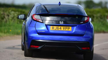 Honda Civic - rear cornering
