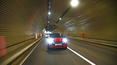 The Italian Job - tunnel