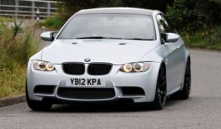 BMW M3 Frozen Silver front