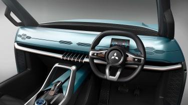 Mitsubishi MI-TECH concept - dash