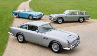 Rare Aston Martin DB5 triplets for sale for £4m