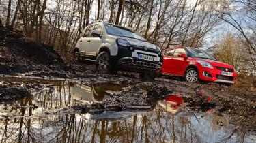 Fiat Panda Cross vs Suzuki Swift 4x4