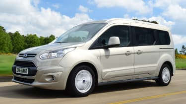 Ford Tourneo Connect 2016 - front tracking