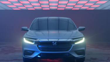 2018 Honda Insight front