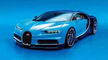 Bugatti Chiron - front