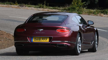 Bentley Continental GT - rear cornering