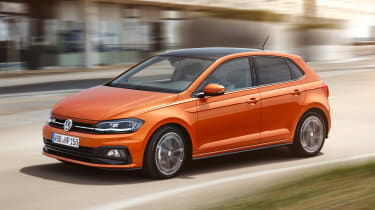 New Volkswagen Polo R-Line - front action
