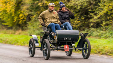 London to Brighton Veteran Car Run  -  halfways