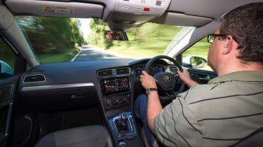Volkswagen e-Golf interior front
