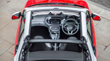 Smart ForTwo Cabrio - interior