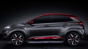 Hyundai Kona Iron Man Edition - side