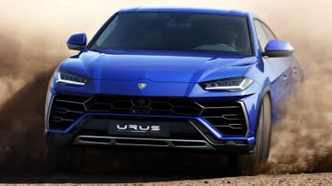 Lamborghini Urus - blue off road