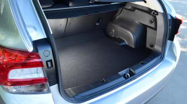 Subaru Impreza - boot