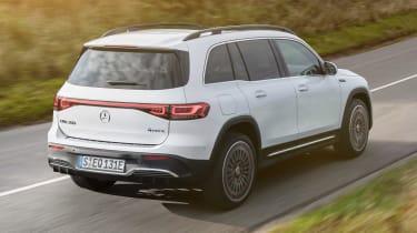 Mercedes EQB - rear tracking