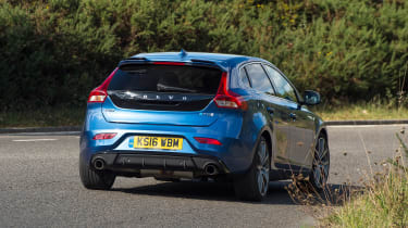 Volvo V40 Polestar Performance Pack - rear cornering
