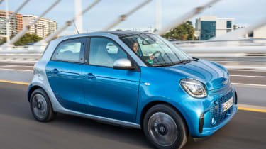 Smart EQ ForFour - front action